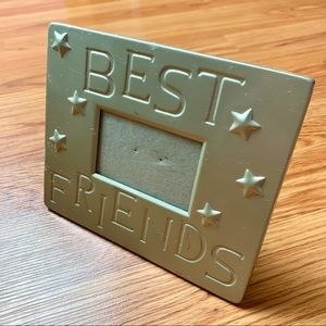 Best Friends Stars Metal Picture Frame